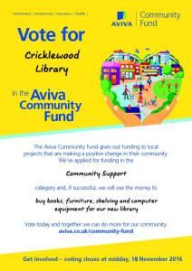 thumbnail of aviva-community-fund-2016-poster-cricklewood