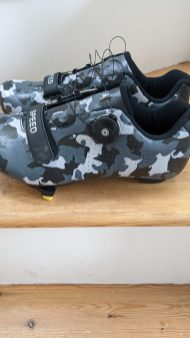 Lewis's new go-faster footwear