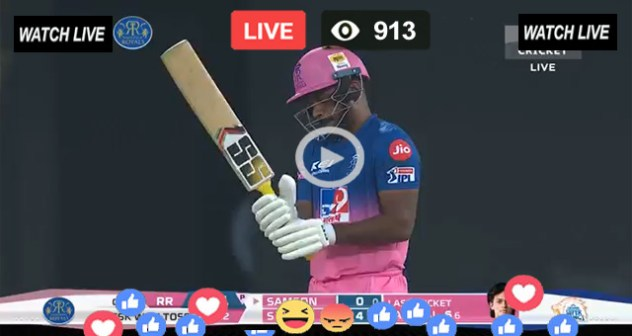 RR vs DC Batting Sanju Samson