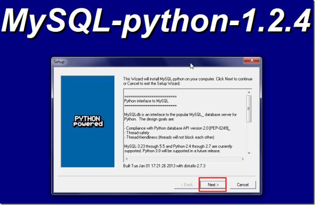 mysql python install main ui