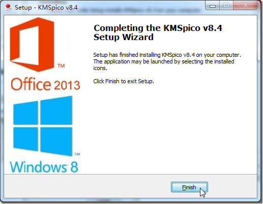 completing the kmspico v8.4 install
