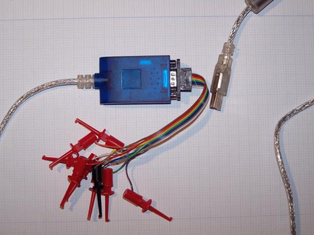 detailed image for analysis hardware signal pins