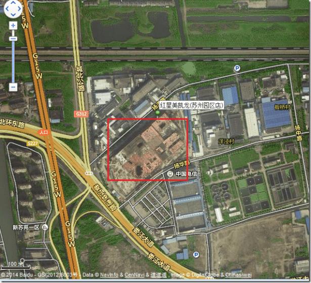 suzhou building material market maclline sip satellite view