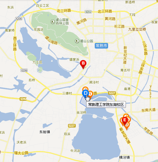 changshu science and technology east lake far view