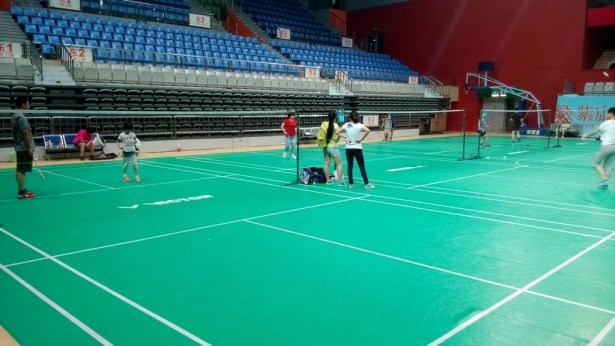 dushu lake badminton court inside south and east