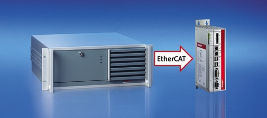 ethercat dramaticly reduce zie of controller