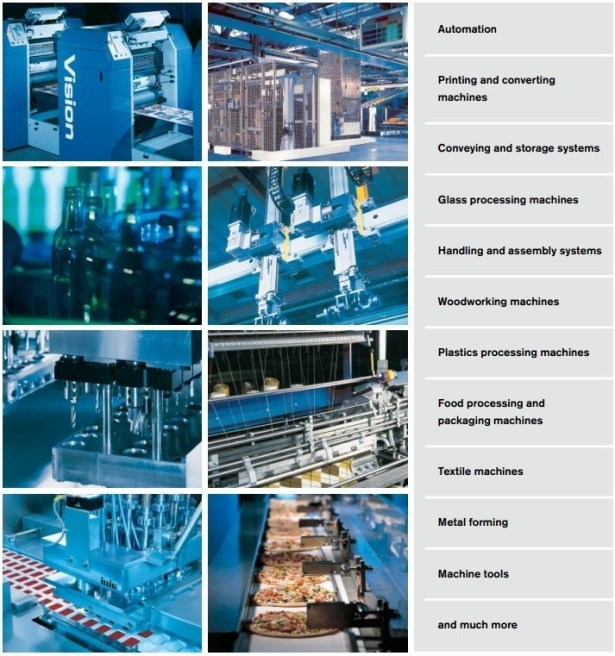 motor application automation printing coverting machines converying and storage system etc