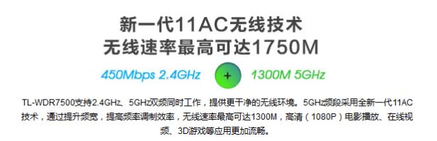 new generation 11ac wireless technology max 1750m