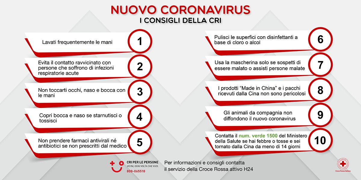 Emergenza sanitaria Coronavirus