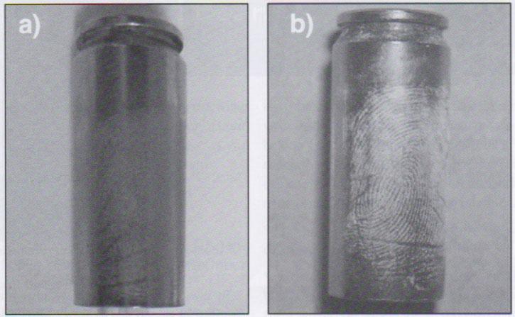 Developing Latent Fingerprints Using Colored Superglue