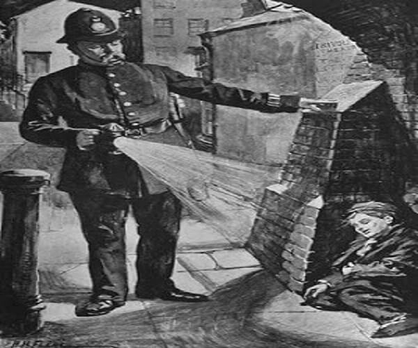 Police investigators in the Victorian era