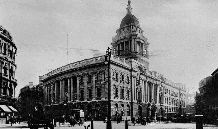 The Old Bailey in London