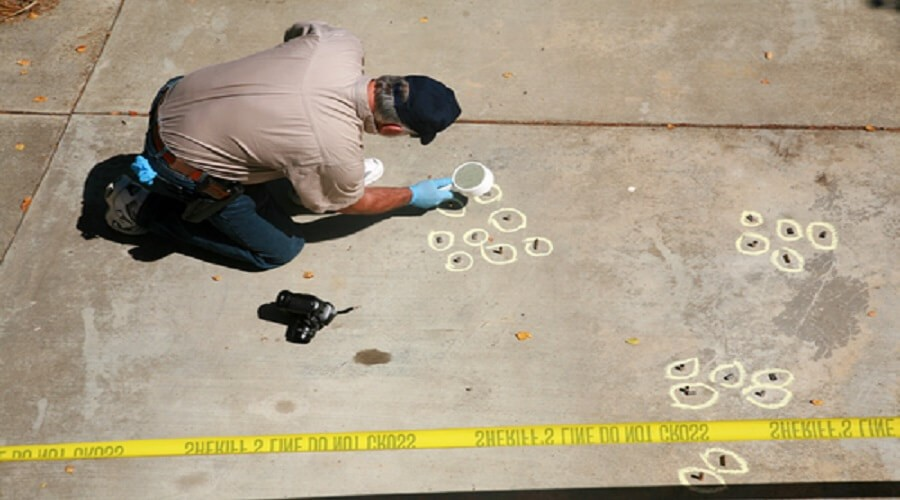 Behind The Yellow Tape Case Files From A Forensic Photographer