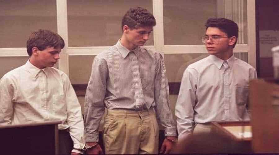 Michael Crowe, Joshua Treadway and Aaron Houser.