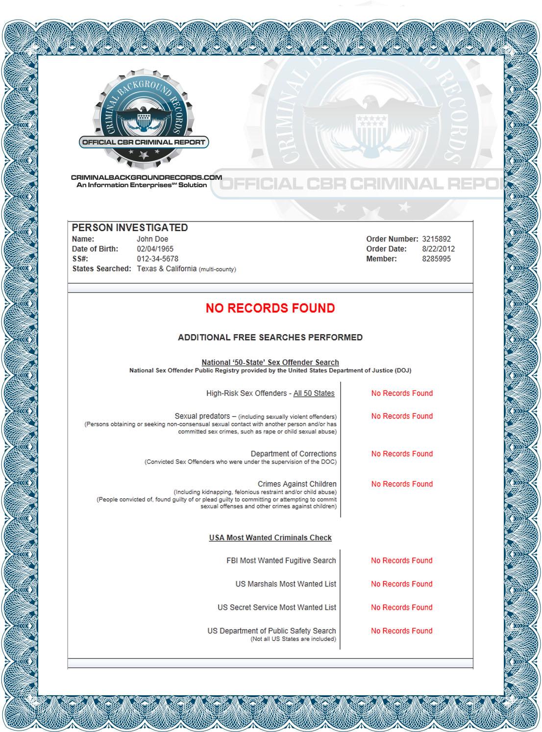 Search Record Criminal Oklahoma