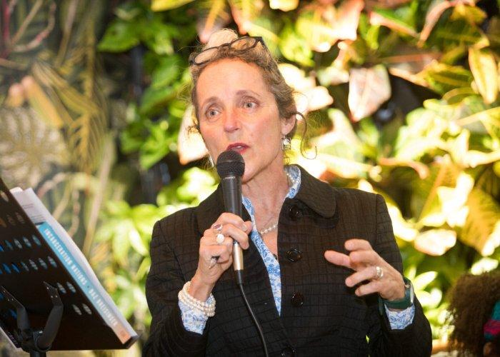 CJA Trustee giving a talk
