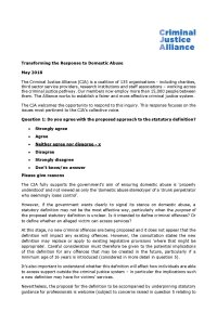 DA consultation FINAL cover page