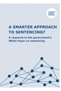 Smarter Approach to Sentencing cover page
