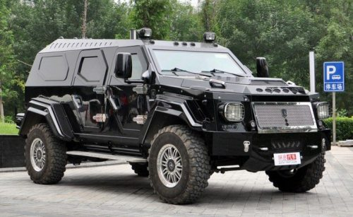 Heavily Armored Private Security Vehicles - Criminal Justice Degree Hub