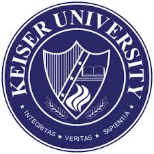 Keiser University square logo