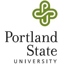Portland State University square logo