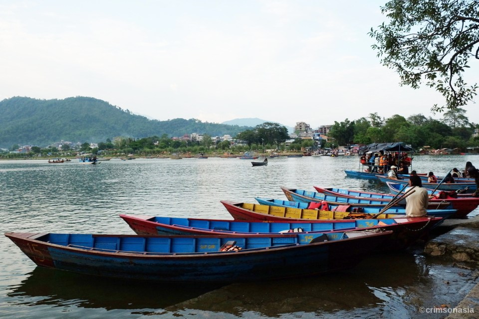 best of nepal crimsonasia lake phewa boating