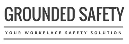 Grounded safety logo