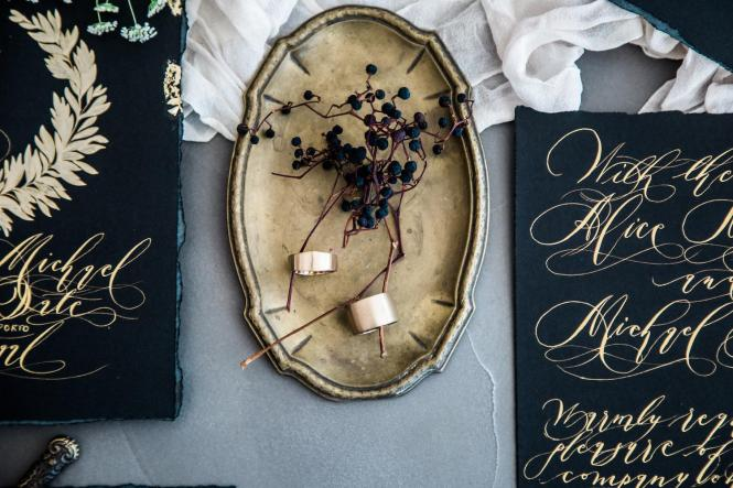 Unique Luxury Handmade Wedding Invitations From Crimson
