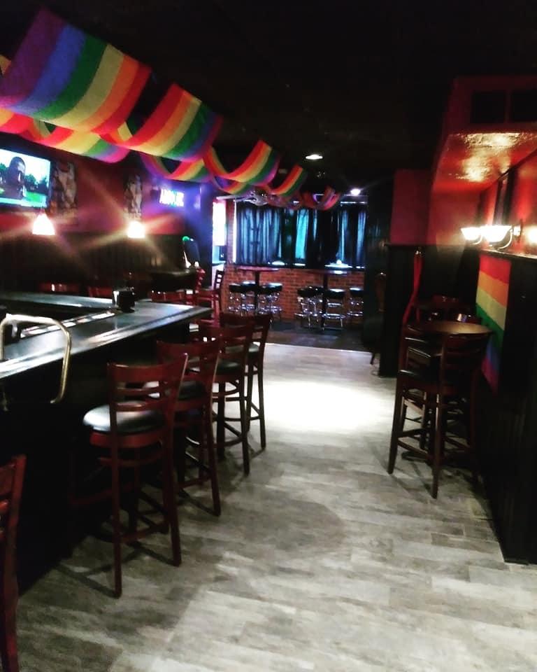 Rainbow Crimson Moon Tavern Inside Downstairs