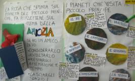 cartelloni sui pianeti e sull amicizia