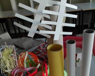fili di carta colorata cartoncino ondulato interni ci carta scottex