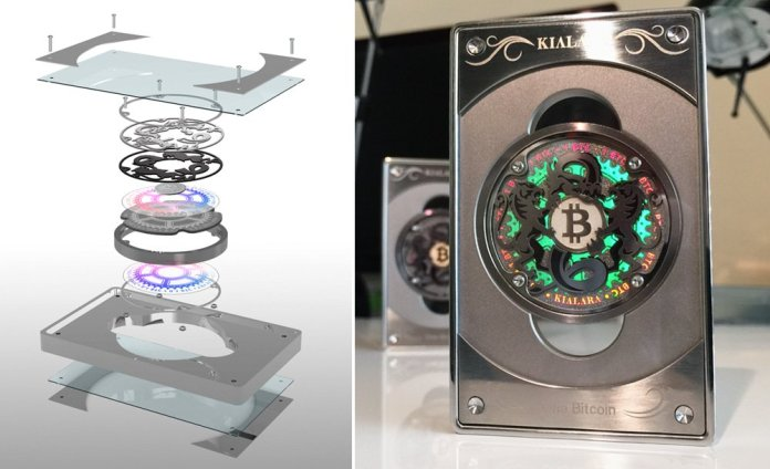 A história das moedas físicas de Bitcoin