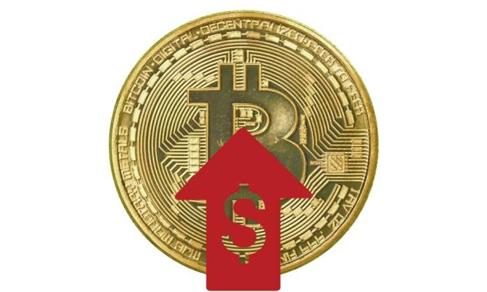 El precio de Bitcoin aumenta un 4%