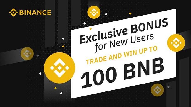 Binance bonus nuovi utenti