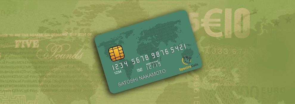 SpectroCoin también lanza su tarjeta de débito bitcoin