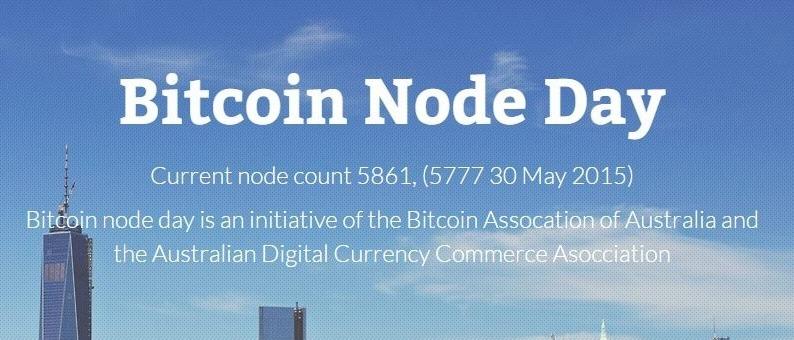 El primer 'Bitcoin Node Day' se realizará el 30 de agosto