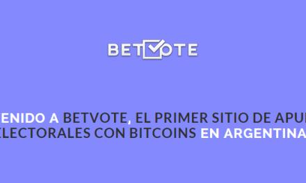 Betvote, la opción libertaria a las elecciones presidenciales argentinas