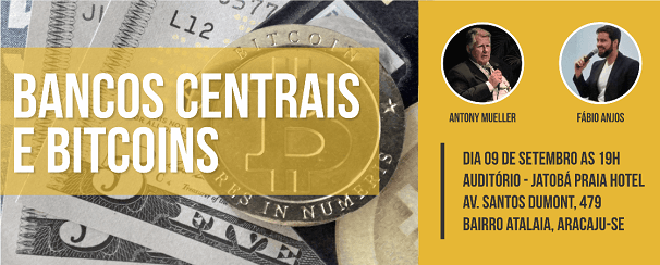 La ciudad brasileña de Aracaju realizó foro sobre Bitcoin y bancos centrales
