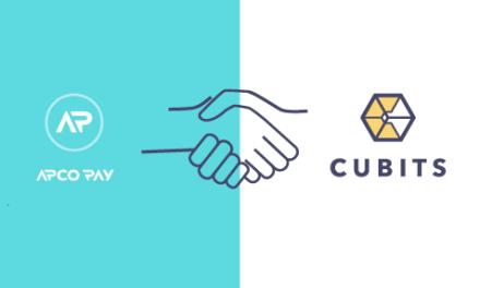 Cubits anuncia su alianza con Apcopay para prestar servicios de pago bitcoin