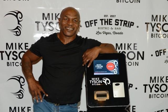 Mike Tyson instala su primer cajero bitcoin en Las Vegas