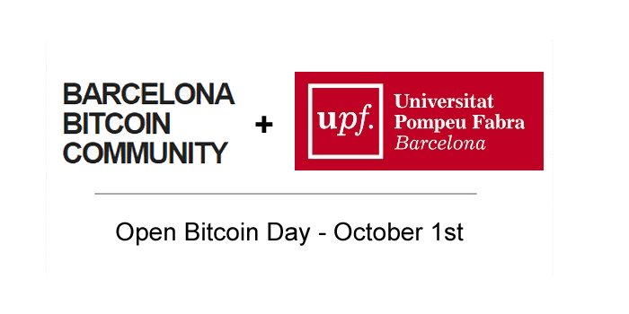 'Open Bitcoin Day' en la Universidad Pompeu Fabra de Barcelona