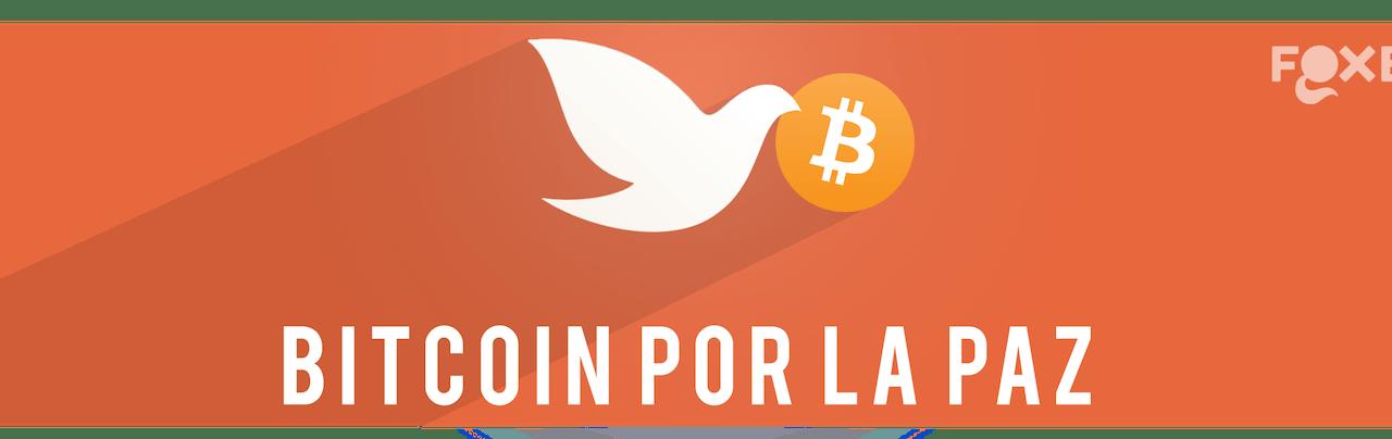 Bitcoin por la Paz: una campaña de apoyo al Día Internacional de la Paz