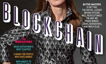 Blythe Masters: blockchain cambiará todo