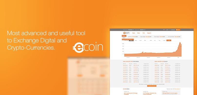 La plataforma de eCoin.eu se renueva con atractivas características