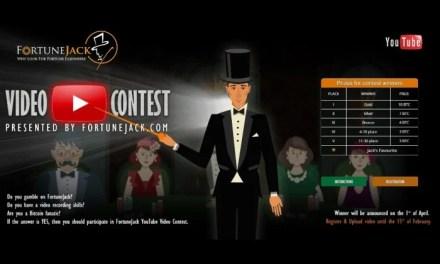 FortuneJack Bitcoin Casino anuncia concurso de vídeo con 30 premios, primer premio de 10 BTC