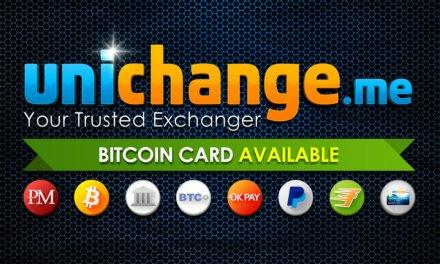 Bitcoin Unichange regala tarjetas virtuales para usar en tiendas en línea