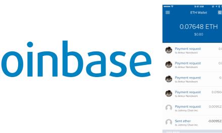 Coinbase agrega al Ether a sus servicios de compraventa y carteras