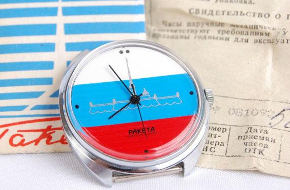 Relojes rusos Raketa emplearán tecnología blockchain para mostrar su autenticidad
