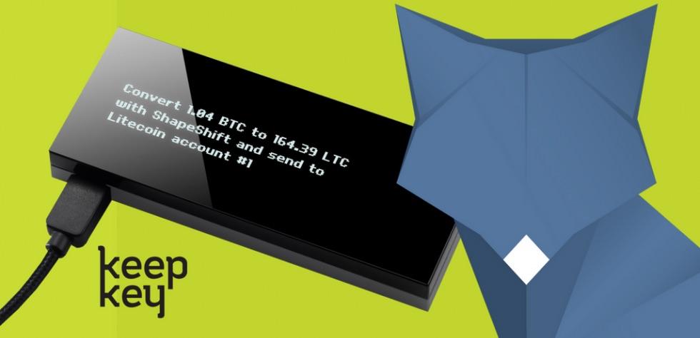 Cartera física KeepKey integra a la casa de cambio ShapeShift a su sistema
