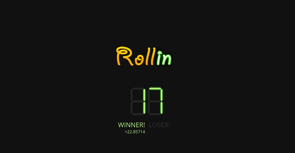 Rollin, la manera más simple y rápida de ganar bitcoins jugando
